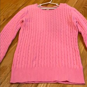 Women's xs pink sweater